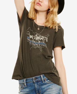 Denim & Supply Ralph Lauren Draped Graphic T-Shirt