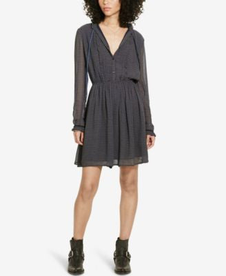 Denim & Supply Ralph Lauren Pleated-Bib Dress