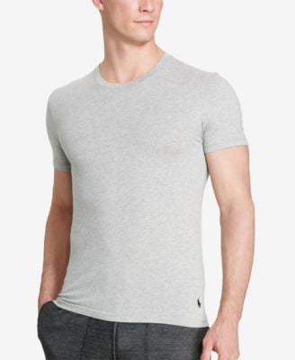 Polo Ralph Lauren Men's Stretch-Jersey Crew Neck, 2-Pk.