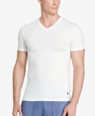 Polo Ralph Lauren Men's Stretch-Jersey V-Neck, 2-Pk.