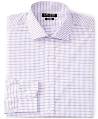Lauren Ralph Lauren Men's Slim-Fit Checked Dress Shirt