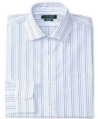 Lauren Ralph Lauren Men's Classic-Fit Striped Dress Shirt