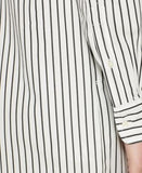 Lauren Ralph Lauren Striped Off-The-Shoulder Shirtdress