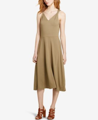 Lauren Ralph Lauren Twisted-Strap Jersey Dress