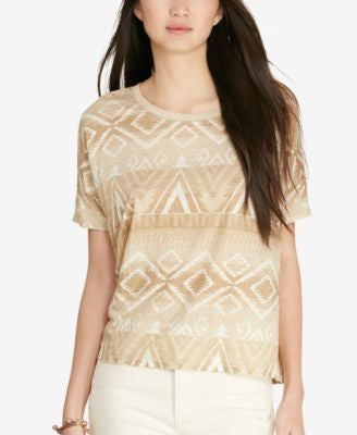 Lauren Ralph Lauren Patterned Jersey T-Shirt