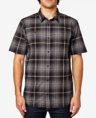 Fox Men's Short-Sleeve Plaid Short