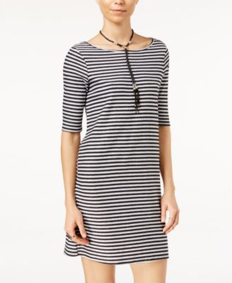 Free People Frenchie Striped T-Shirt Dress