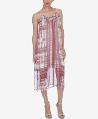 Lucky Brand Printed Shift Dress