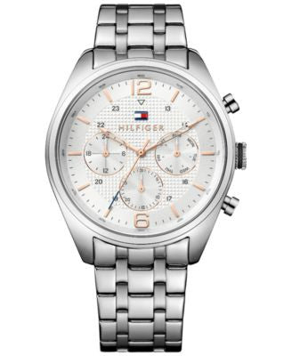 Tommy Hilfiger Men's Sophisticated Sport Stainless Steel Bracelet Watch 44mm 1791186
