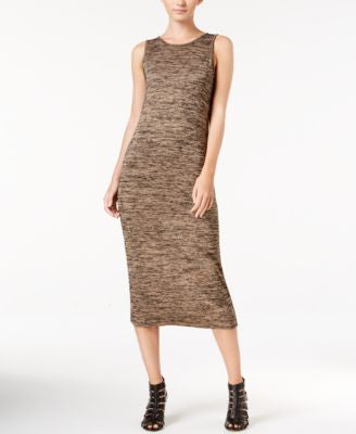 kensie Space-Dyed Midi Dress