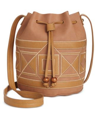 INC International Concepts Four Corners Bucket Bag, Only at Vogily