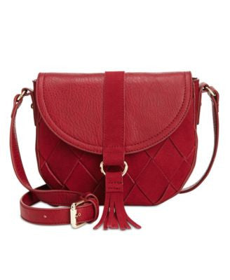 INC International Concepts Ella Saddle Bag, Only at Vogily