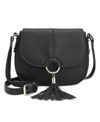 INC International Concepts Emerson Saddle Bag, Only at Vogily