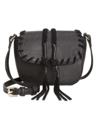 INC International Concepts Callie Saddle Bag, Only at Vogily
