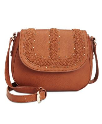INC International Concepts Grayson Saddle Bag, Only at Vogily