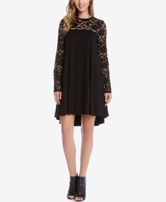Karen Kane Maggie Lace Trapeze Dress