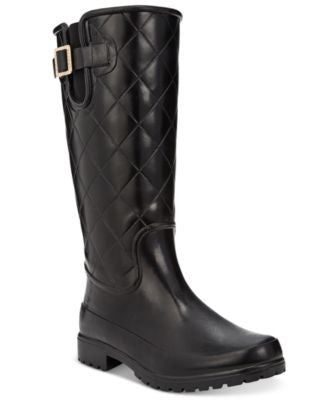 Sperry Women's Pelican Tall Quilted Rain Boots