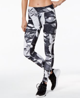 Reebok Shredded Printed Speedwick Leggings