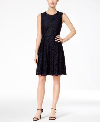 Tommy Hilfiger Fern Lace Fit & Flare Dress