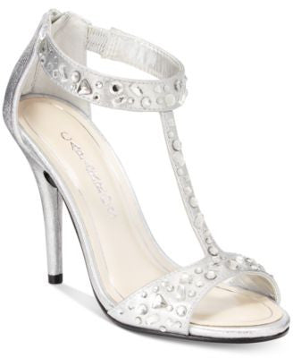 Caparros Esther T-Strap Evening Sandals