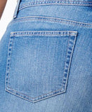 Style & Co. Plus Size Distressed Saint Wash Slim-Leg Jeans, Only at Vogily
