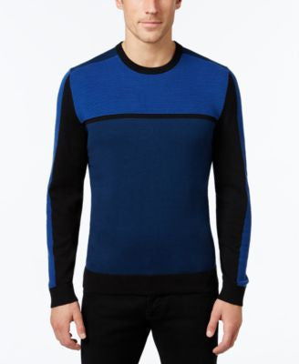 Alfani Men's Colorblocked Sweater, Only at Vogily