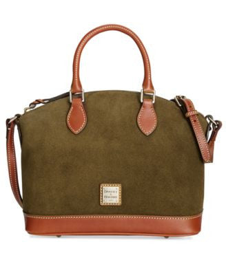 Dooney & Bourke Suede Satchel
