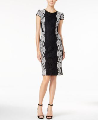 Betsey Johnson Lace Sheath Dress