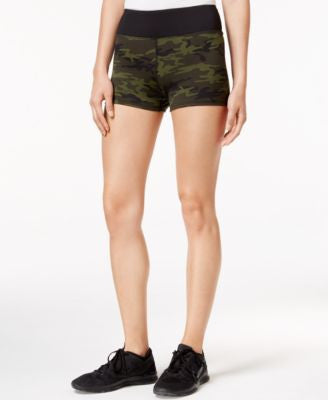 Jessica Simpson The Warm Up Juniors' Printed Compression Shorts, Only At Vogily