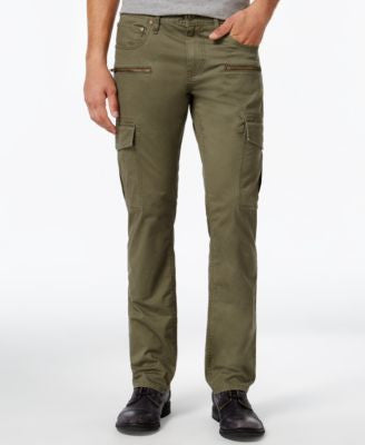 INC International Concepts Men's Esteban Slim-Straight Cargo Pants, Only at Vogily