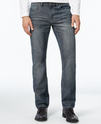 INC International Concepts Men's Pablo Slim-Straight Jeans, Only at Vogily