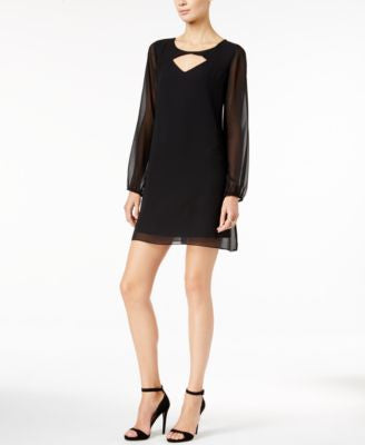BCBGeneration Keyhole Shift Dress