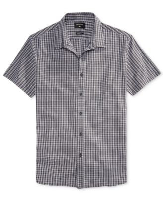 Quiksilver Men's Short-Sleeve Cotton Shirt