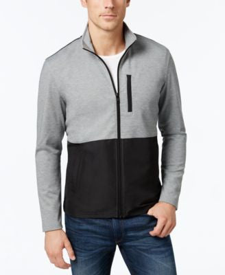 Alfani Men's Colorblocked Knit Jacket, Only at Vogily