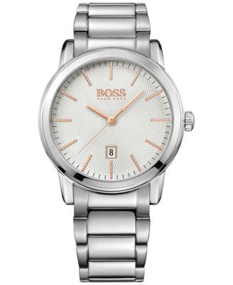 BOSS Hugo Boss Men's Classic 1 Stainless Steel Bracelet Watch 40mm 1513401