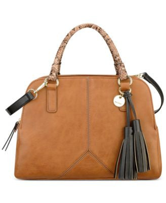 Nine West Tasseled and Tied Satchel