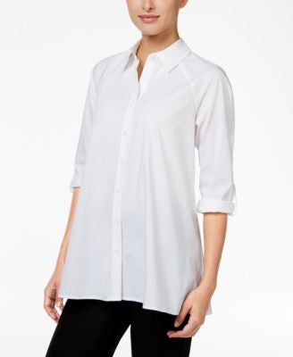 Style & Co. Swing High-Low Shirt, Only at Vogily