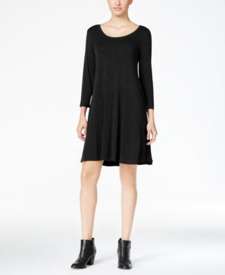 Style & Co. Petite Swing Dress, Only at Vogily