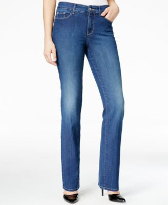 NYDJ Marilyn Atlanta Wash Straight-Leg Jeans