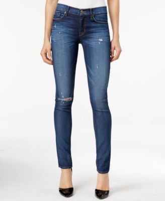 Hudson Jeans Ripped Skinny Jeans, Offshore Wash