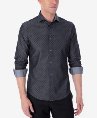 Calvin Klein X Men's Extra-Slim Fit Reversible Stretch Dress Shirt