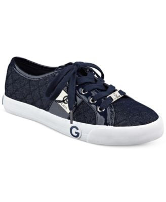 G by GUESS Byrone Quilted Lace-Up Sneakers