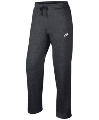 Nike Men's Open-Bottom Fleece Pants
