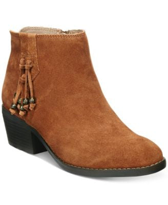 White Mountain Havana Tassel Booties