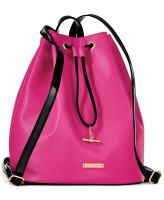 Receive a Complimentary backpack with any Juicy Couture large spray purchase