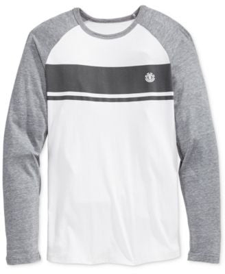 Element Men's Long-Sleeve Raglan Stripe T-Shirt