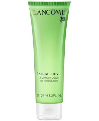 Lancôme Énergie de Vie Smoothing & Purifying Foam Cleanser, 4.2 oz