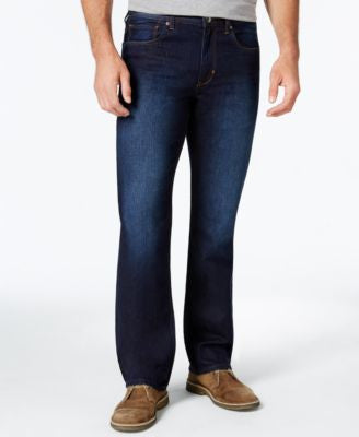Tommy Bahama Men's Cayman Relaxed-Fit Dark Wash Jeans