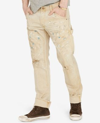 Denim & Supply Ralph Lauren Men's Splattered Jeans