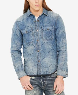 Denim & Supply Ralph Lauren Men's Gordon Quilted Shirt Jacket